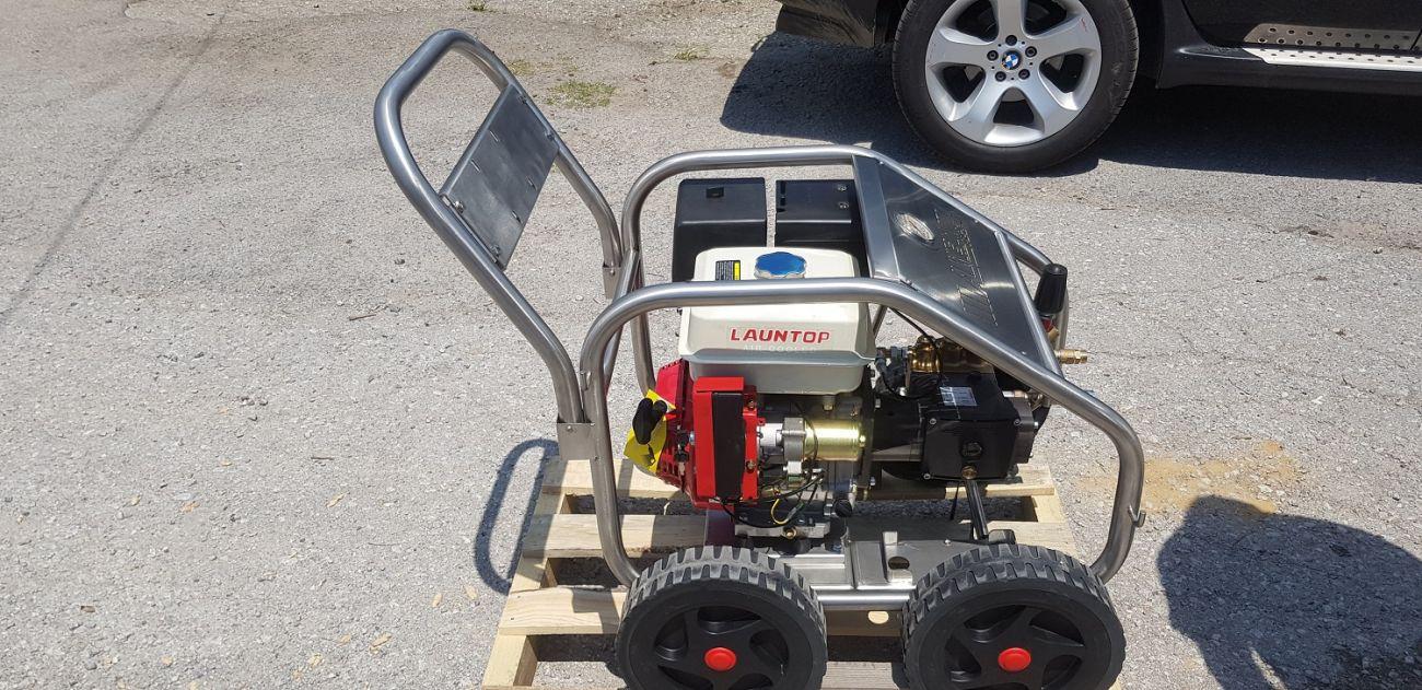 Βενζινοκινητο υδροπλυστικό 250 bar 17 lit 16hp 3000rpm made in italy