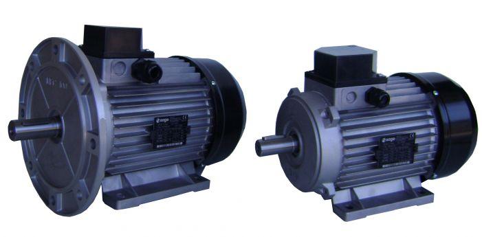 Ηλεκτροκινητήρας 1400 στροφών τριφασικός 4hp 28mm soga ιταλίας