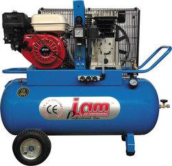 LAM Αεροσυμπιεστής LAM ENG100/4 100 Lit βενζινοκίνητος 7 HP για αγροτική χρήση