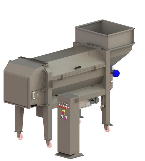 Απορογητήρας MADRINA 300 δυναµηκότητας 25-30 τόνους/ώρα , 7.5 ΗΡ ( ΤΕΜ Ιταλίας)