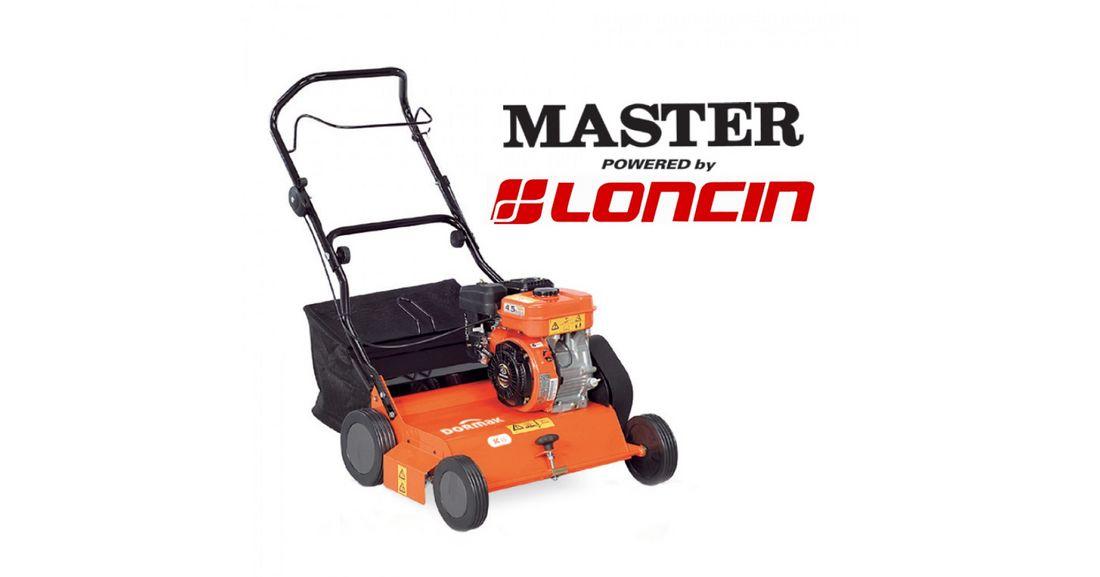 Αεριστήρας γκαζόν βενζινοκίνητος Master/Loncin SC45L