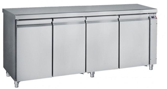 Ψυγείο Πάγκος Με 4 Πόρτες GN Χωρίς Ψυκτικό Μηχάνημα
