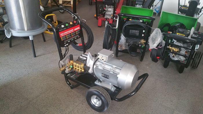 Πλυστικό Μηχάνημα 206bar 7.5hp με πίνακα και TOTAL STOP 1450 rpm 800lit/hour