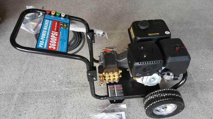 Επαγγελματικό βενζινοκίνητο πλυστικό 250bar 1020lit/hour με κινητήρα zongshen 13hp
