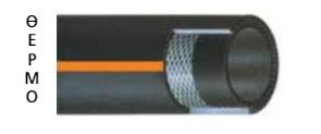 Σωλήνας αποδόσεως αέρος DRAGON 20 , 20bar , 1/2 inch ρολό 50m