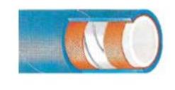 Σωλήνας ελαστικός τροφίμων MITANK S/D - 6 bar - 1 inch - γάλακτος , λιπαρών -σπιραλ - 40m