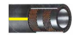 Σωλήνας νερού - αέρος DRAGONFLEX 10 , 1/2 inch , ρολό 50m