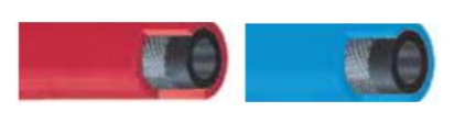 Σωλήνας οξυγόνου - ασετυλίνης 50°C - 20bar , 6 x 10 mm , ρολό 50m