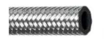 Σωλήνας πετρελαίου ελαστικός 5,5 x 9,5 mm , με εξωτερικό μεταλλικό πλέγμα  50m