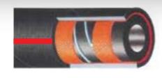 Σωλήνας καυσίμων ελαστικός TRACOFLEX  2½ inch , 16bar , 40m