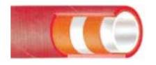 Σωλήνας ελαστικός 3/4 inch , τροφίμων - αλκοολούχων με λινά RAKI - 10bar , 40m
