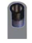 Σωλήνας αέρος βουτανίου γκρί - 10bar , 5/16 inch