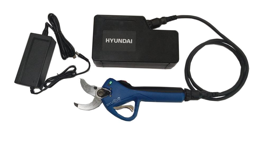 HYUNDAI HSB4040 PRO Ψαλίδι κλαδέματος μπαταρίας δενδροκομικό 36V 4Ah με προστασία δακτύλων
