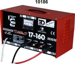 Φορτιστής Εκκινητής μπαταριών 12-24V 17Α