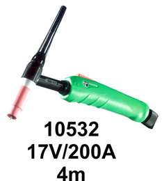 Τσιμπίδα ΤIG 17V/200A TRAFIMET 4m