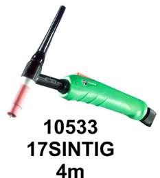 Τσιμπίδα ΤIG 17V/SINTIG TRAFIMET 4m