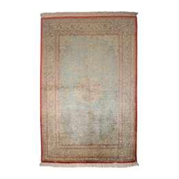 Ghom Seide 147 x 97 cm Persian Rug