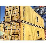 Κοντέινερ 12M Μεταχειρισμένο χαμηλό Standard Dry Steel Container