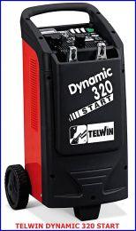 Φορτιστής - εκκινητής μπαταρίας 12/24 V DYNAMIC 320 TELWIN