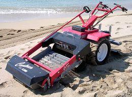 Μηχανήματα καθαρισμού παραλίας-χωραφιού
