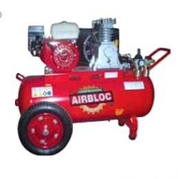 Αεροσυμπιεστής airbloc βενζινοκίνητος TH6550-100 , 6,5HP