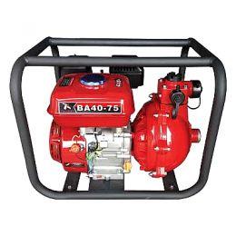 Βενζινοκίνητη αντλία νερού διβάθμιας πιέσεως 6,5HP PLUS BA 40-75