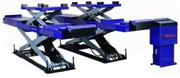 Ανυψωτικό ψαλιδωτό Ευθυγράμμισης με πλατφόρμες 4000kg