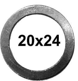 ΡΟΔΕΛΑ ΑΛΟΥΜΙΝΙΟΥ ΓΕΡΜΑΝΙΑΣ 20Χ24