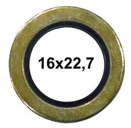 ΡΟΔΕΛΑ ΧΑΛΚΙΝΗ-ORING 16Χ22,7Χ1,5