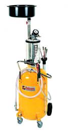 Italcom Βαλβολινιέρα Τροχήλατη 80lt με αναρρόφηση ,γυάλα 10λίτρα και Ελαιολεκάνη