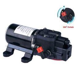 Αντλία με πρεσσοστάτη  24 volt 1,1Α με φίλτρο για ψεκασμούς και μεταφορά υγρών