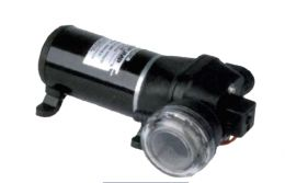 Αντλία με πρεσσοστάτη12 volt  4.5Α με φίλτρο για ψεκασμούς και μεταφορά υγρών