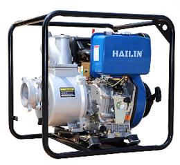 Αντλία πετρελαιοκίνητη αλουμινίου με μίζα Hailin HL50CXLE 2 ίντσες 9.6hp