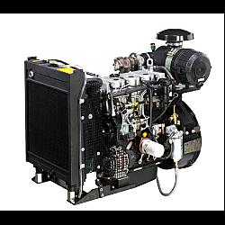 """Πετρελαιοκινητήρας υδρόψυκτος 3000 στροφών με σύνδεση SAE4 και δίσκο 7.5"""" 60hp τετρακύλινδρος"""