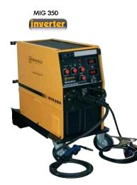 MIG 350 ti - Ηλεκτροσυγκόλληση Inverter