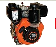 ΚΙΝΗΤΗΡΑΣ ΠΕΤΡΕΛΑΙΟΥ UNITED POWER 4,7 HP  UD170 Q1