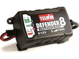 Ηλεκτρονικός Φορτιστής - Συντηρητής 6/12V DEFENDER 8 TELWIN