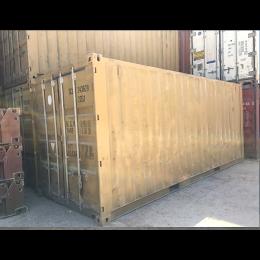 Κοντέινερ 6M χαμηλό μεταχειρισμένο 6,1×2,5×2,6m
