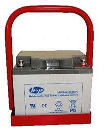 Μπαταρία πολλαπλών επαναφορτίσεων VRLA με βάση 12V 40 Amp