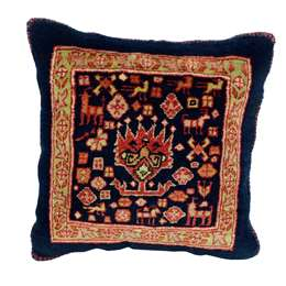 Kissen Ghashghai 36x35cm Persian Style Rug