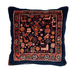 Kissen Ghashghai 40x34cm Persian Style Rug