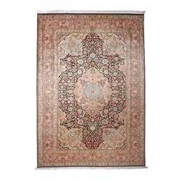 Kashmir silk 311x213cm Oriental Silk Rug