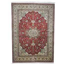 Κασμίρ Ολομέταξο 220 x 159 cm Χαλί
