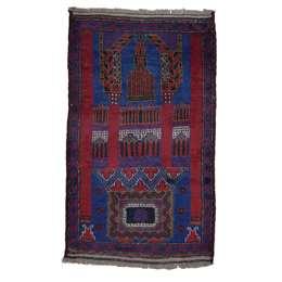Beluch 148 x 80 cm Wool Afghan Rug