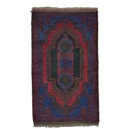 Beluch 140 x 83 cm Wool Afghan Rug