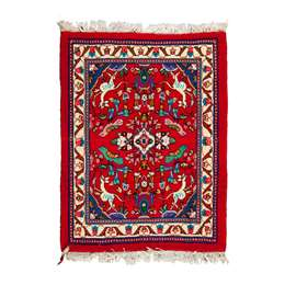 Mashad 84 x 69cm Persian Style WOOL Rug