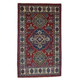 Kazak 126 x 75 cm Nomad Wool Rug