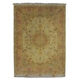 Tabriz60 RAJ 200x150cm Wool and Silk Rug