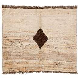 Gabbeh Qashgai 106 x 90cm Persian Style Nomad Rug