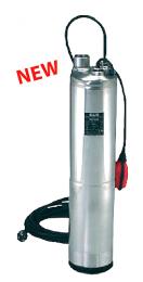 DAB DIVER 100 M-A Υποβρύχια ανοξείδωτη αντλία δεξαμενών / πηγαδιών 5'' 1HP - 230V